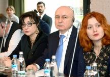 """კონფერენცია თერმაზე ,,მოსამართლეთა დისციპლინური გადაცდომები, შემოთავაზებული ჩამონათვალი და განმარტებები"""" 25 თებერვალი 2016 წელი"""