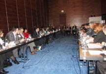 """კონფერენცია თემაზე """"მოსამართლეთა დისციპლინური პასუხისმგებლობა საქართველოში - არსებული პრაქტიკა და სამომავლო გამოწვევები"""" 2014 წლის 25 იანვარი"""