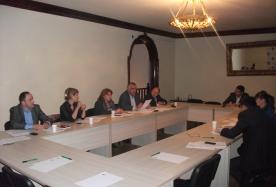 სადისციპლინო კოლეგიის წევრების სამუშაო შეხვედრა მოსამართლეთა ერთობის წევრებთან