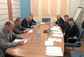 Disciplinary Committee members meet with representatives of Judges Association of Georgia